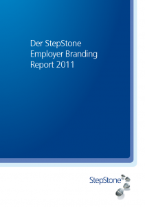 Jobsuche Report 2011 Employer Branding