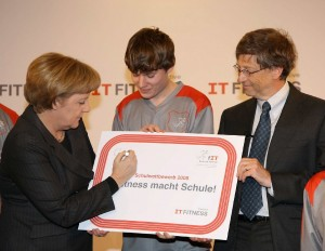 Initiative IT Fitness Microsoft CSR PR Agentur Fink Fuchs