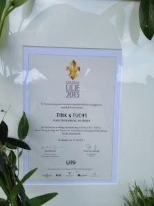 Goldene-Lilie-2013-CSR-Auszeichnung-Wiesbaden