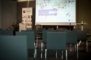"""Fink-&-Fuchs-PR-Workshop-zum-Thema-""""Internationale PR""""-2013 -Setting"""
