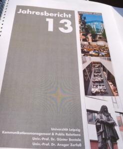 Jahresbericht-Kommunikationsmanagement-Leipzig-2013-Fink-Fuchs-PR-Forschung