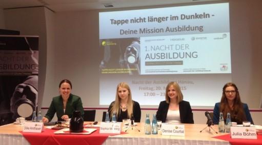 Pressekonferenz Nacht der Ausbildung Hanau Arbeitgeberkommunikation