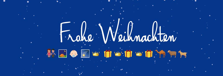 Weihnachten 2015 Fink und Fuchs Emoji