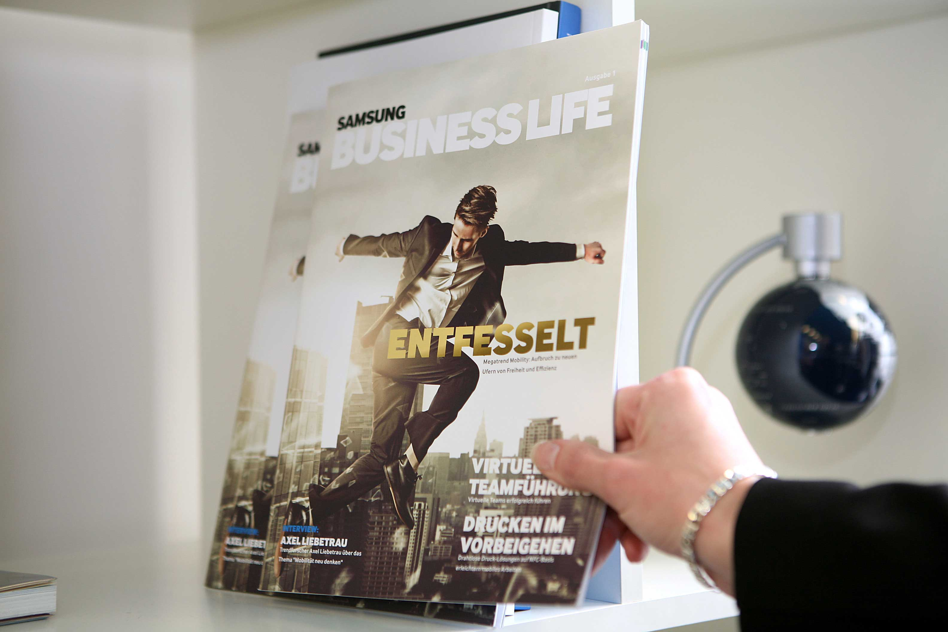 Samsung Business Life Consumer PR