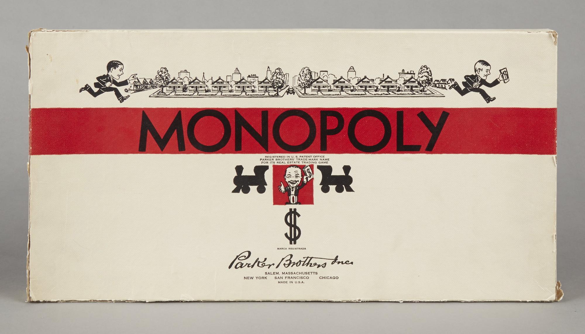 Monopoly Erste Ausgabe 1935 80ster Geburtstag Consumer PR