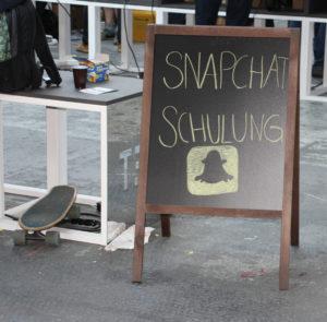 Snpachat re:publica 2016 Fink & Fuchs