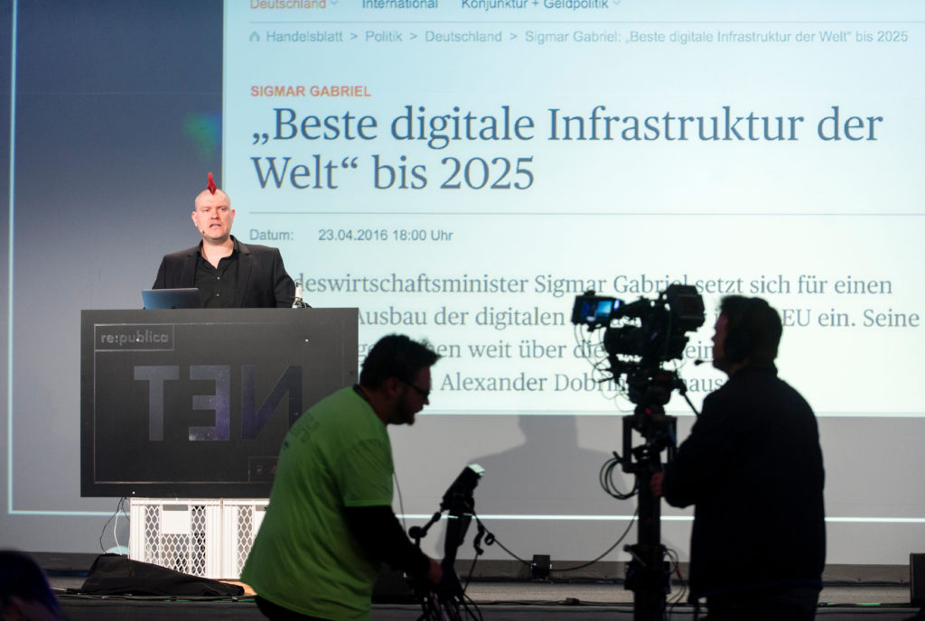 republica TEN Newsroom Digitale Gesellschaft Konferenz
