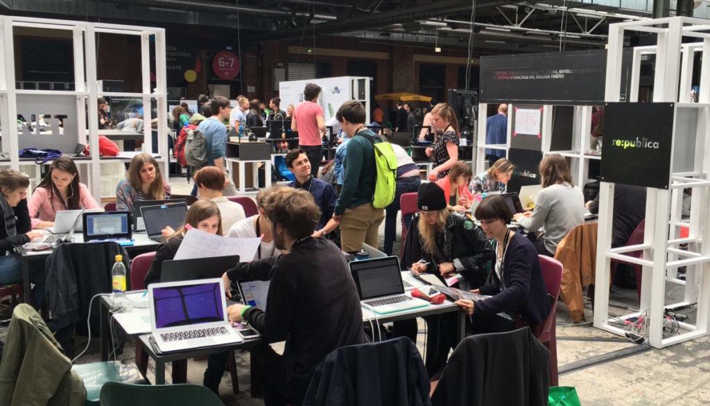 re-publica-Newsroom-Projekt-Redaktionsteam