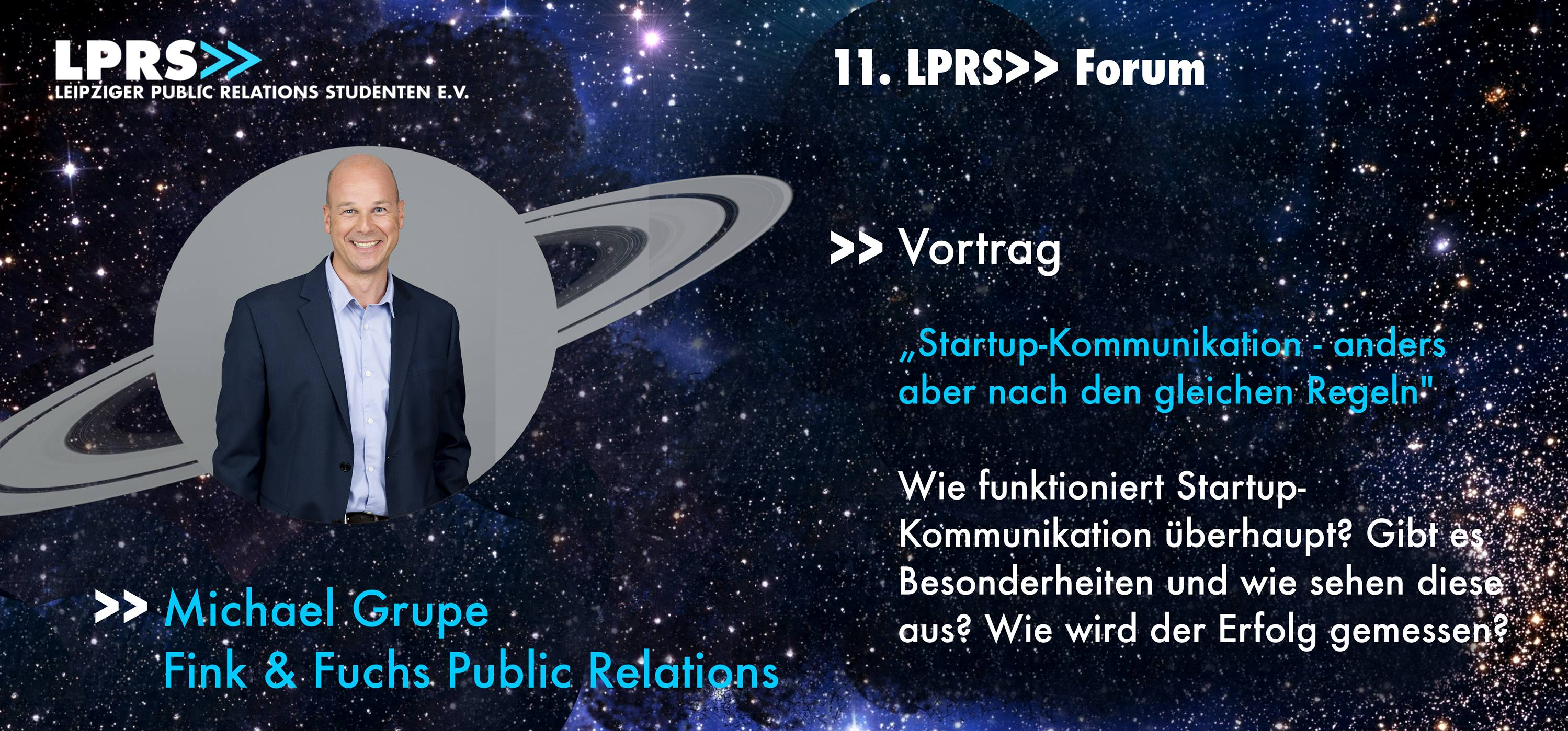 Start-up Kommunikation Fink Fuchs LPRS Forum