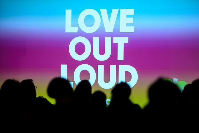 LOVEoutLOUD ist das Motto der diesjährigen re:publica.