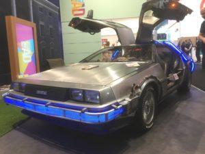 DeLorean aus Zurück in die Zukunft Dmexco 2017