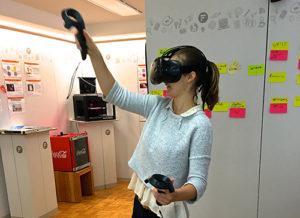Employer Branding Agentursurfing VRbrille Carola