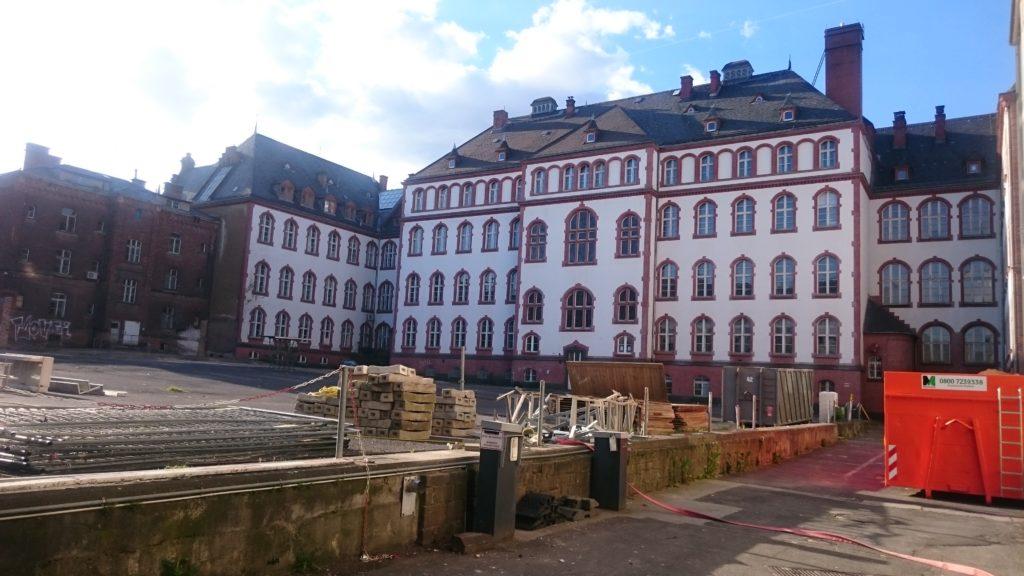 Altes Gericht Wiesbaden – Standort für das geplante Kreativzentrum – Photo Dirk Fellinghauer
