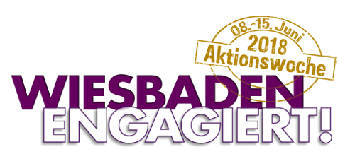 Aktionswoche Wiesbaden Engagiert Logo CSR
