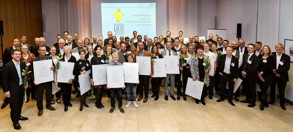 goldene lilie 2018 CSR Fink Fuchs