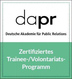 Logo DAPR Zertifizierung 273x300