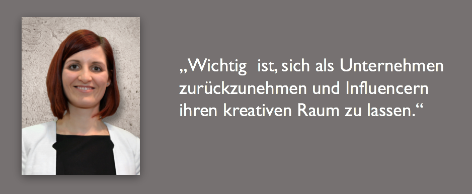 Visualquote Eva Fink Fink & Fuchs Influencer Kommunikation