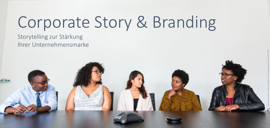Corporate Story und Branding Fink & Fuchs Seminar