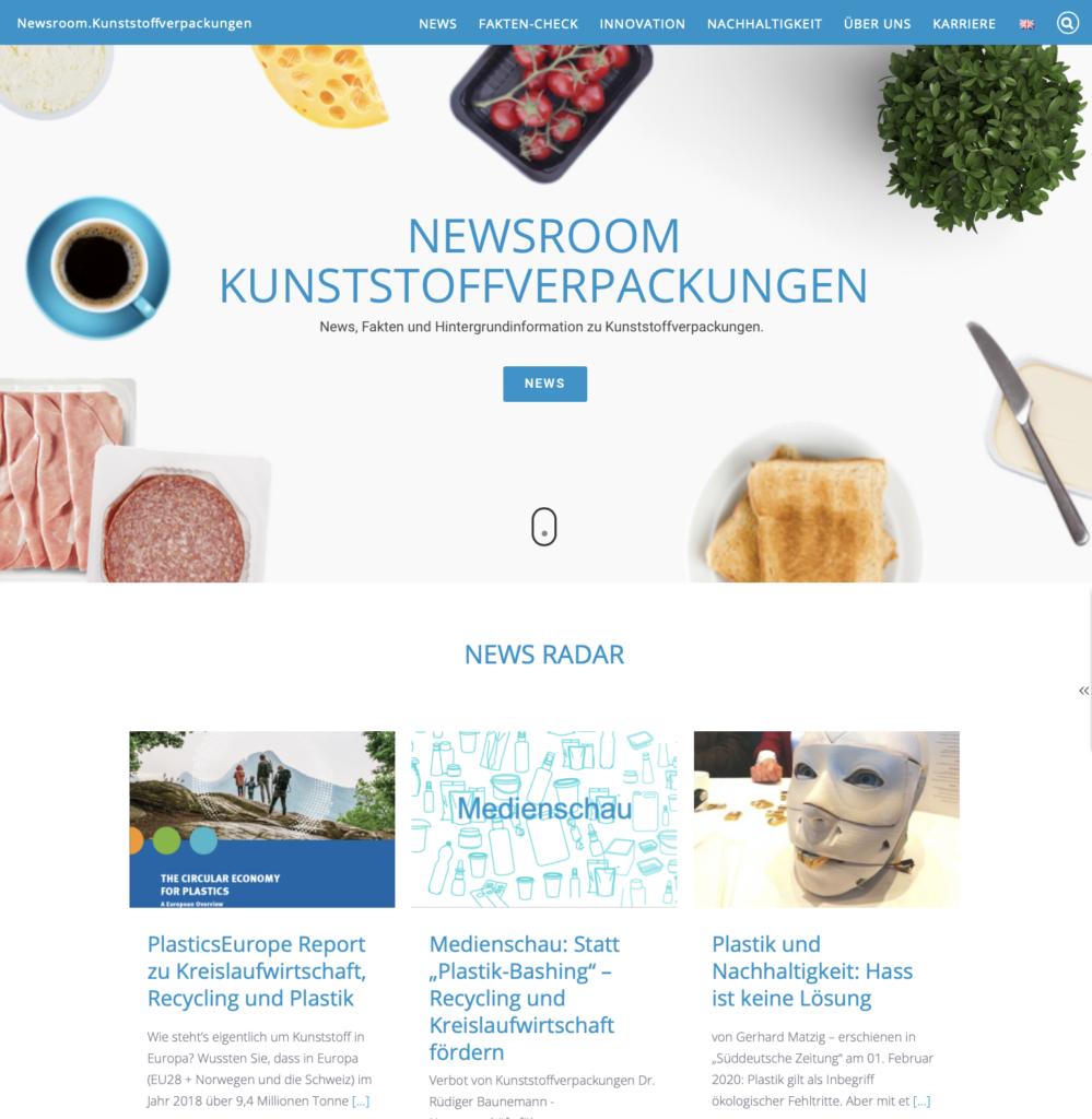 PR Preis 2020 Krisenkommunikation Kampagne Newsroom PlasticsEurope IK Industrievereinigung Kunststoffverpackungen