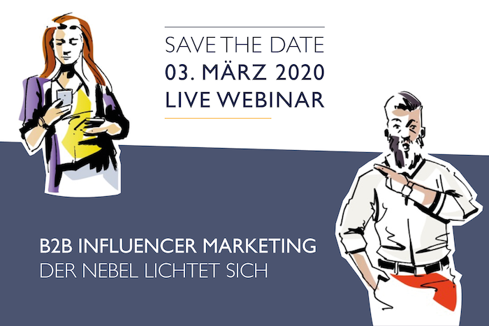Webinar Influencer Marketing Kommunikationsagentur Fink & Fuchs