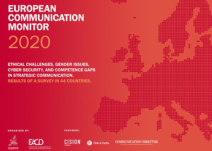 Frontcover 2020 European Communication Monitor