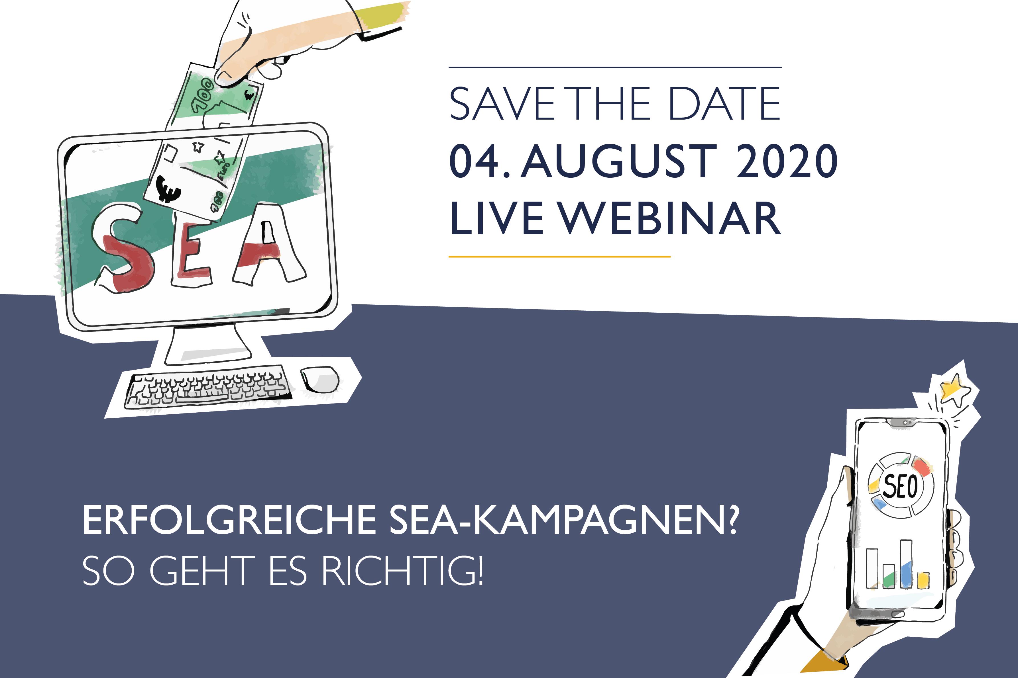 Webinar SEA Kampagne 04.08.2020
