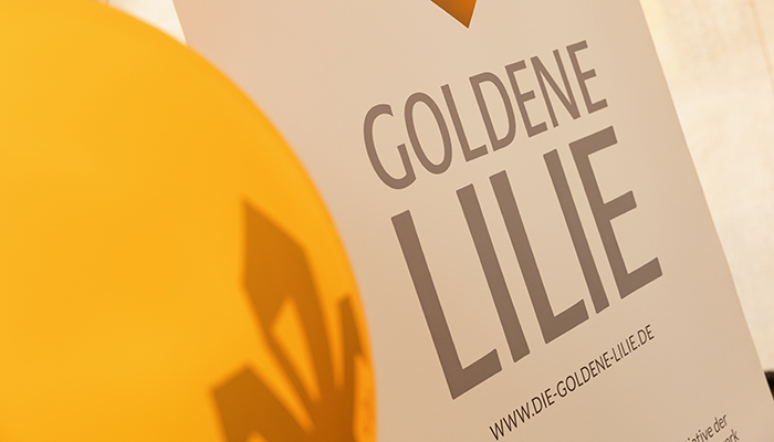 Goldene Lilie 2021 CSR Fink & Fuchs Agentur